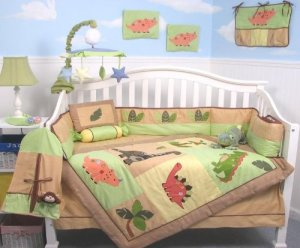 dinosaur-crib-bedding