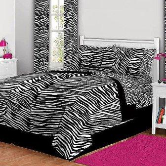 bed-in-a-bag-zebra-print-bedding-set