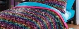 rainbow-zebra-print-bedding-set