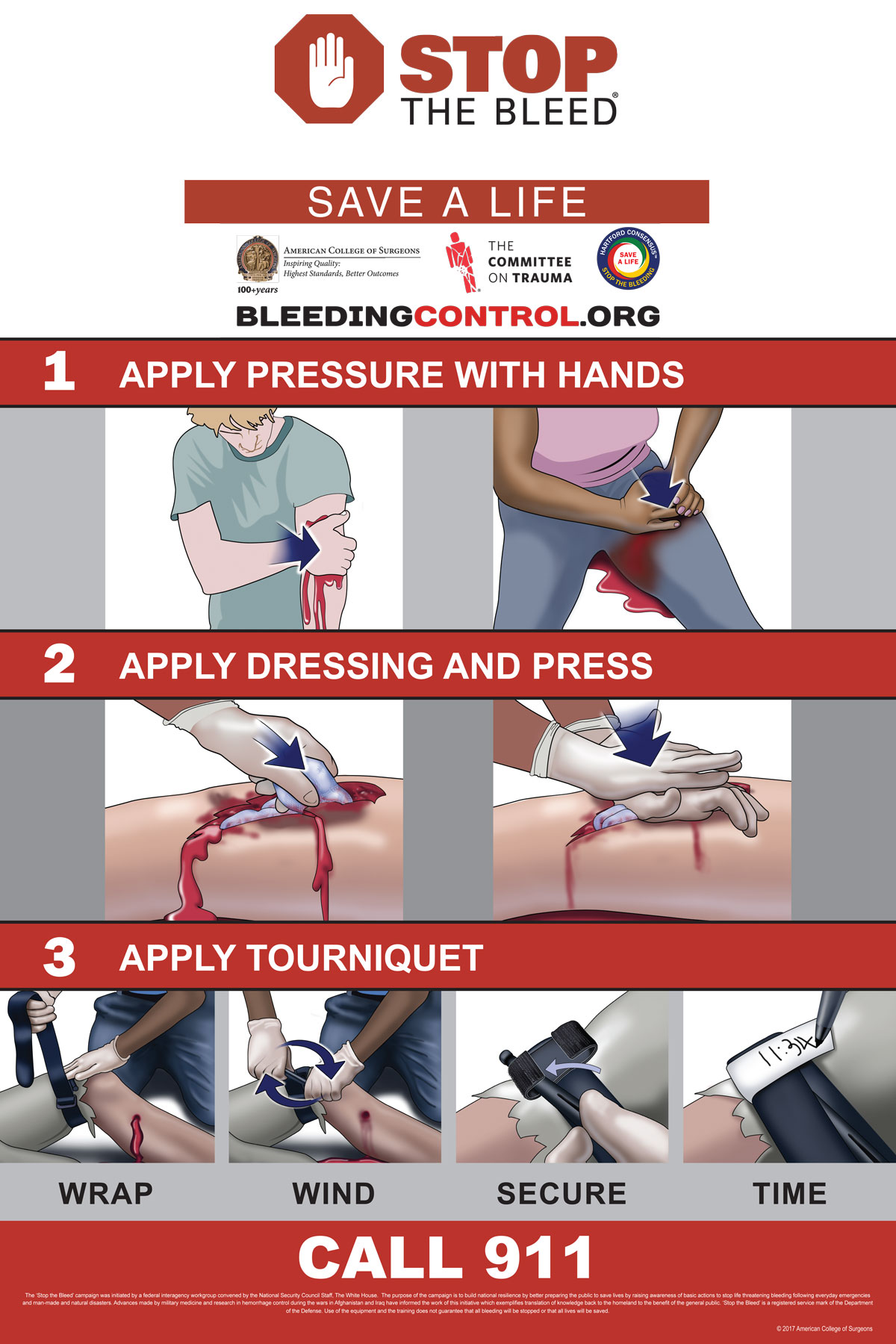 Stop the Bleed and ASHER Training Offered by the Bedford