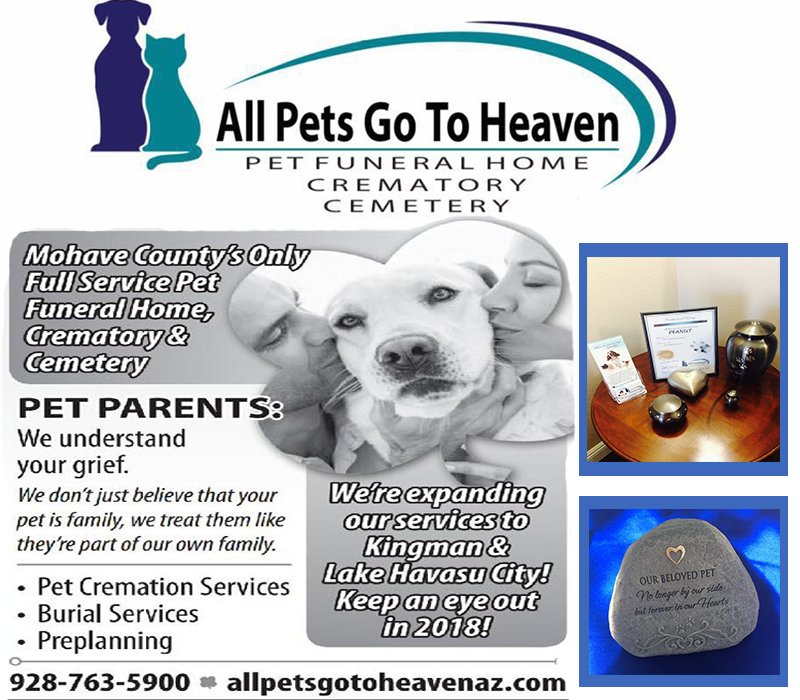 Full Pet Service Burials Cremations In Mohave County The Bee