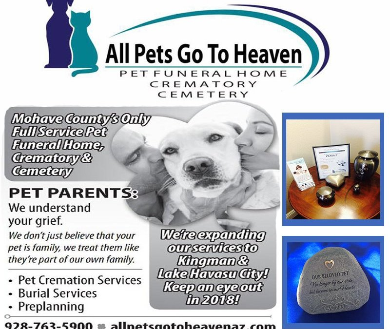 Full Pet Service Burials & Cremations In Mohave County
