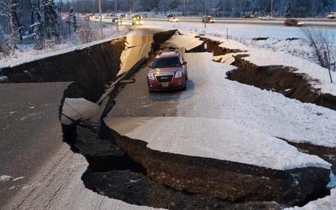 7.2 Earthquake Strikes Alaska