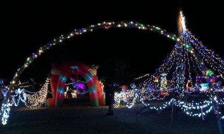Christmas Spirit In Full Swing At Golden Valley Home