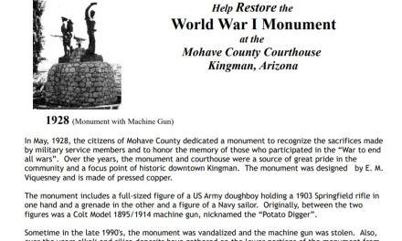 Effort underway to restore the World War I Monument