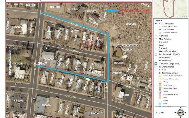 Waterline Replacement – Downtown Kingman