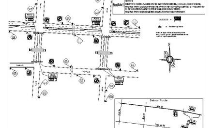 Street Closure for Railwork