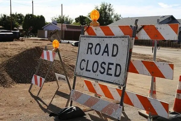 Willow Intersection Closed Next Week