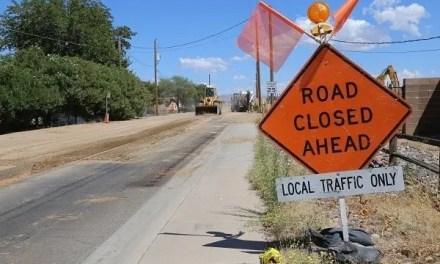 Kino Avenue Waterline Project Update -New Closure in Effect Next Week-