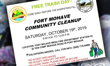 FORT MOHAVE COMMUNITY CLEAN-UP EVENT