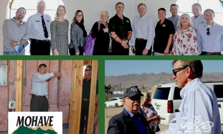 Gosar visits Bullhead City  veterans' homeless shelter