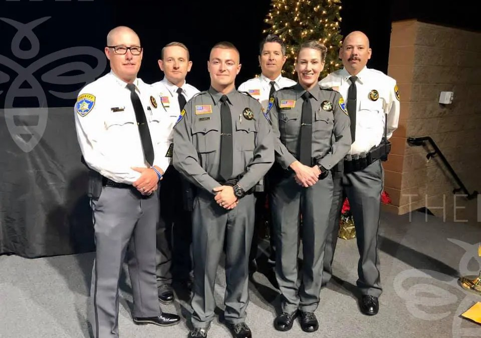 New Deputy Graduation from Mohave County Sheriff's Office