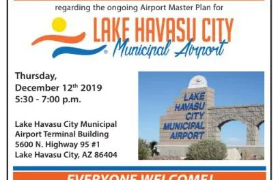 Public Invited to Airport Master Plan Informational Workshop