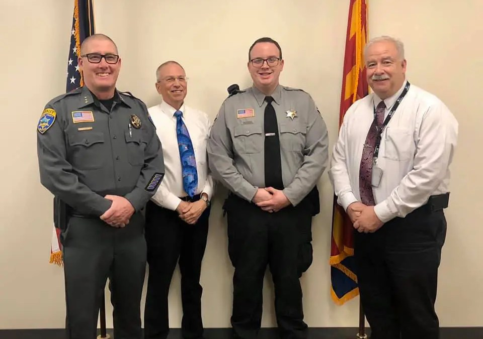Promotion of Mohave County Sheriff's Office officer