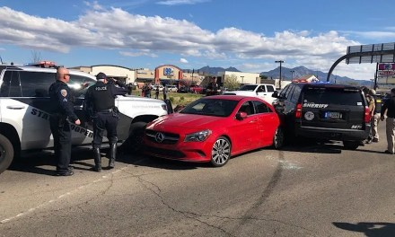 Police pursuit into Kingman