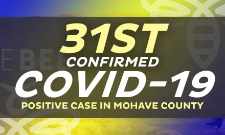 A New Positive Case in Lake Havasu City Area