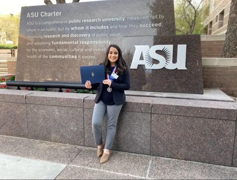 MCC student receives $10,000, named 2020 Kathy Hodel Award recipient