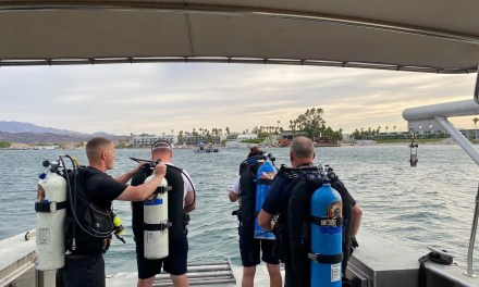 DIVE MISSION- LAKE HAVASU