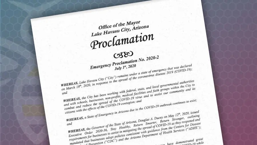Proclamation Requires Masks Worn in All Businesses Open to Public