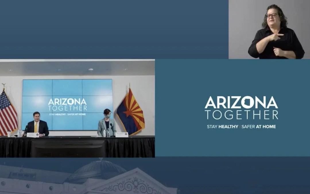(VIDEO) Governor Ducey, Superintendent Hoffman, ADHS Director Dr. Christ, Arizona DEMA Director Maj. Gen. McGuire Share COVID-19 Updates