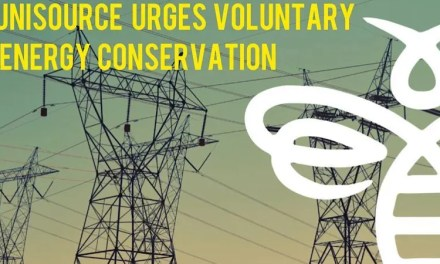 UniSource Asks Electric Customers to Voluntarily Conserve Energy From 3-8 p.m. Today