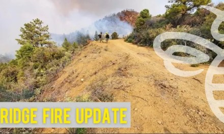 Ridge Fire now at 91% containment