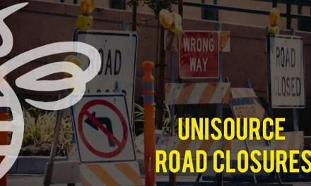 UniSource Road Closure