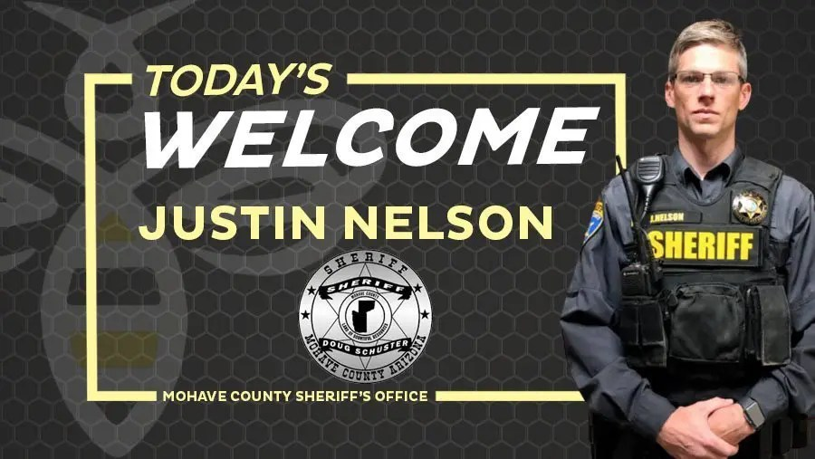 Welcome our newest to the Sheriff's Dept team