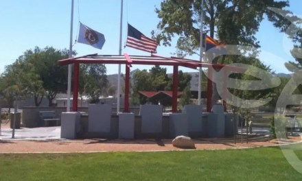 """Groups Team Up to """"Adopt"""" Fire Fighters Memorial Park in Kingman"""