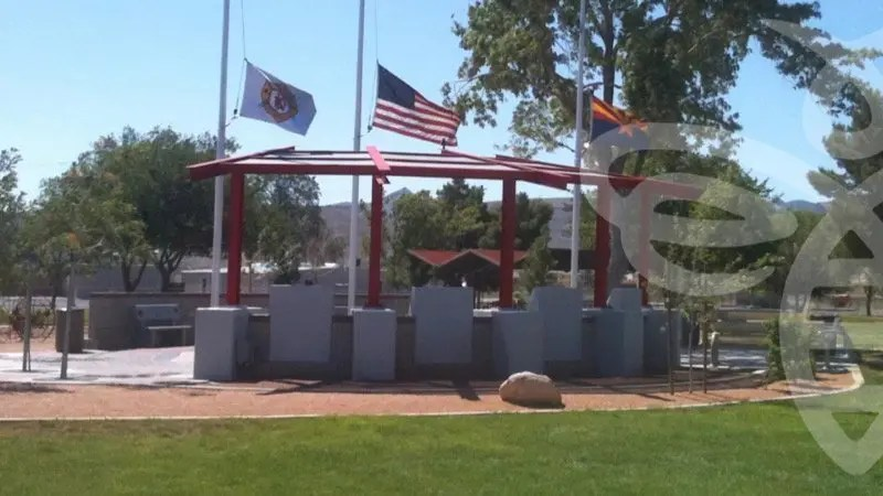 "Groups Team Up to ""Adopt"" Fire Fighters Memorial Park in Kingman"