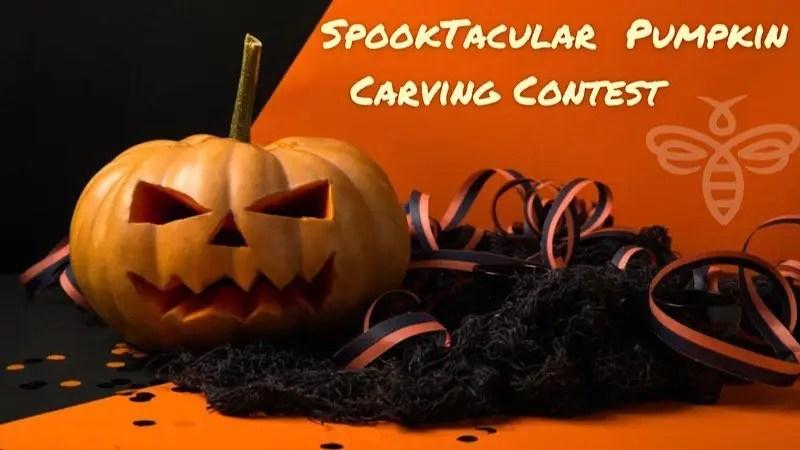 "The Bee Presents ""Spooktacular Pumpkin Carving Contest"""