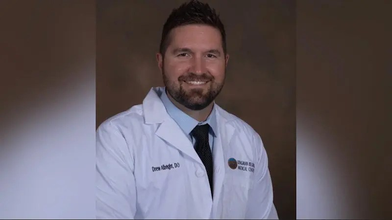 KRMC welcomes General Surgeon Drew Albright, DO