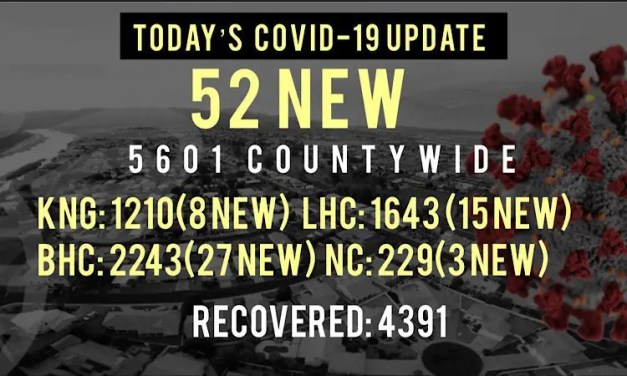 52 New COVID-19 Cases