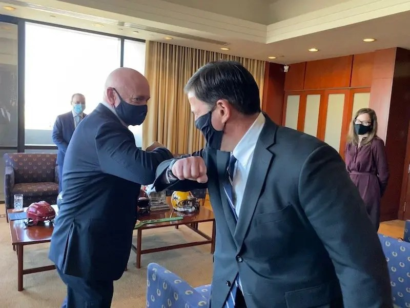 Governor Ducey Statement On Meeting With Senator-Elect Mark Kelly