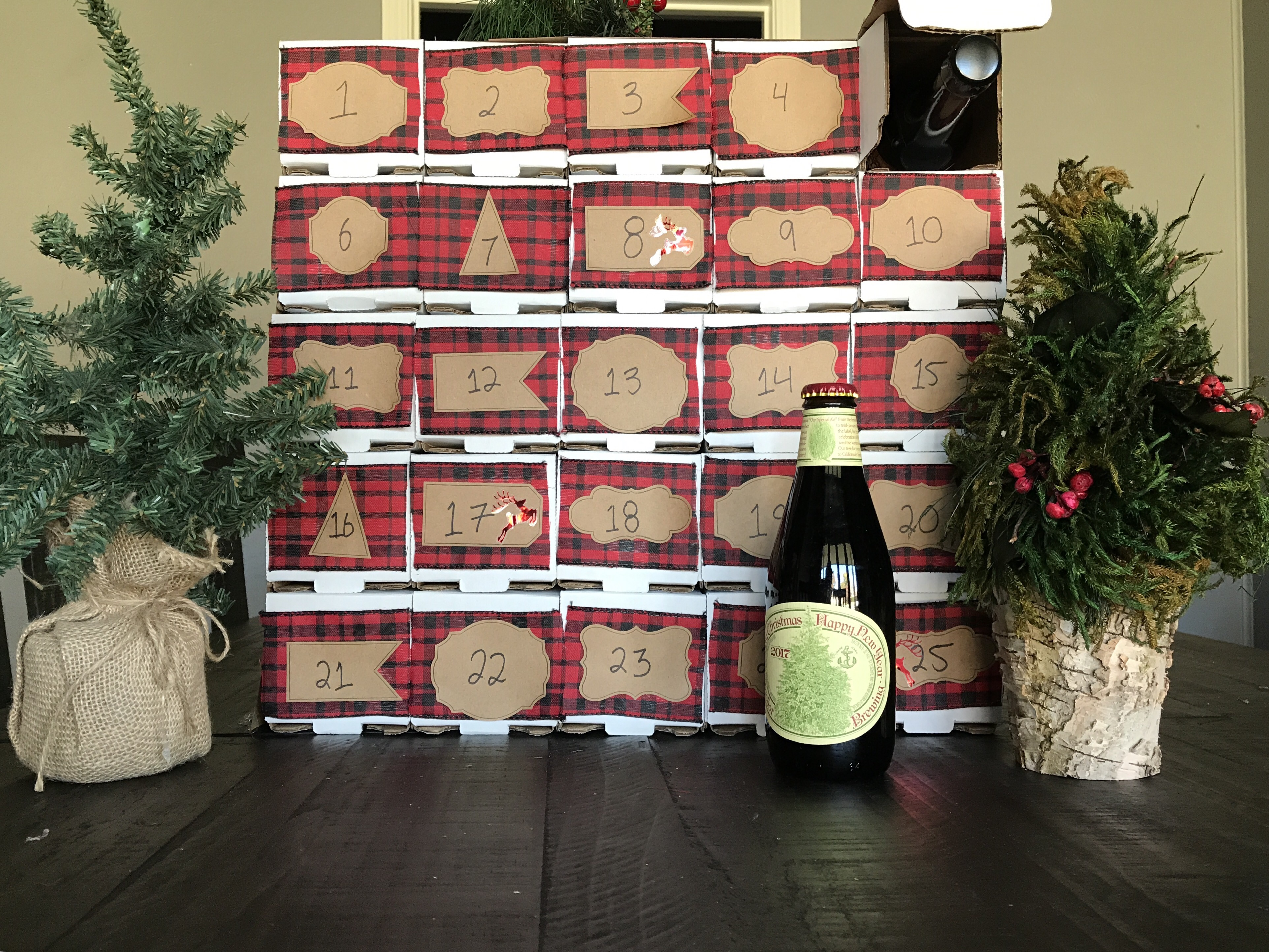 How to make The Beerded Lady's Advent Calendar