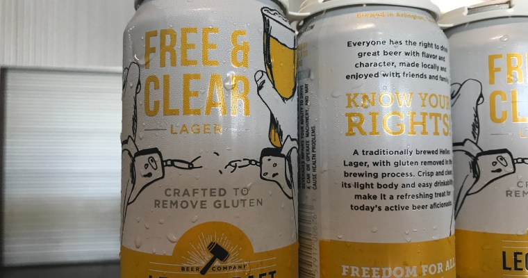 Free & Clear a Gluten Free Beer