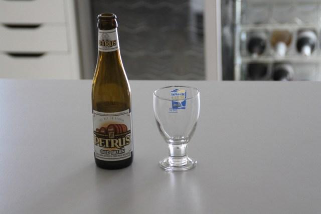 Un galopin de 12,5cl (bouteille à côté pour échelle)