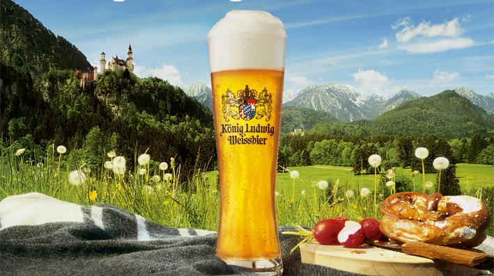 Resultado de imagen para König Ludwig Weissbier Leicht
