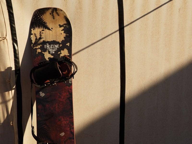 Sandboard for Desert Activites