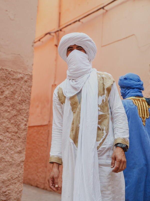 Traditional Beldi Hotel Guide, Mohamed in Marrakech