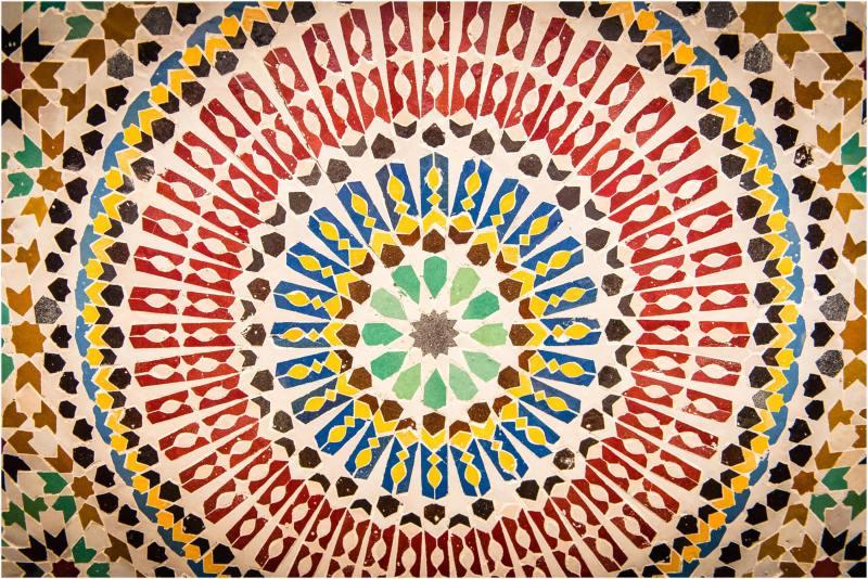 mosaic tiles fez morocco