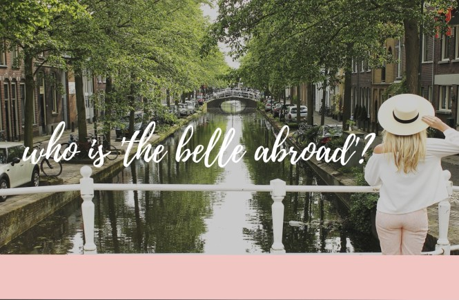 the belle abroad : about page