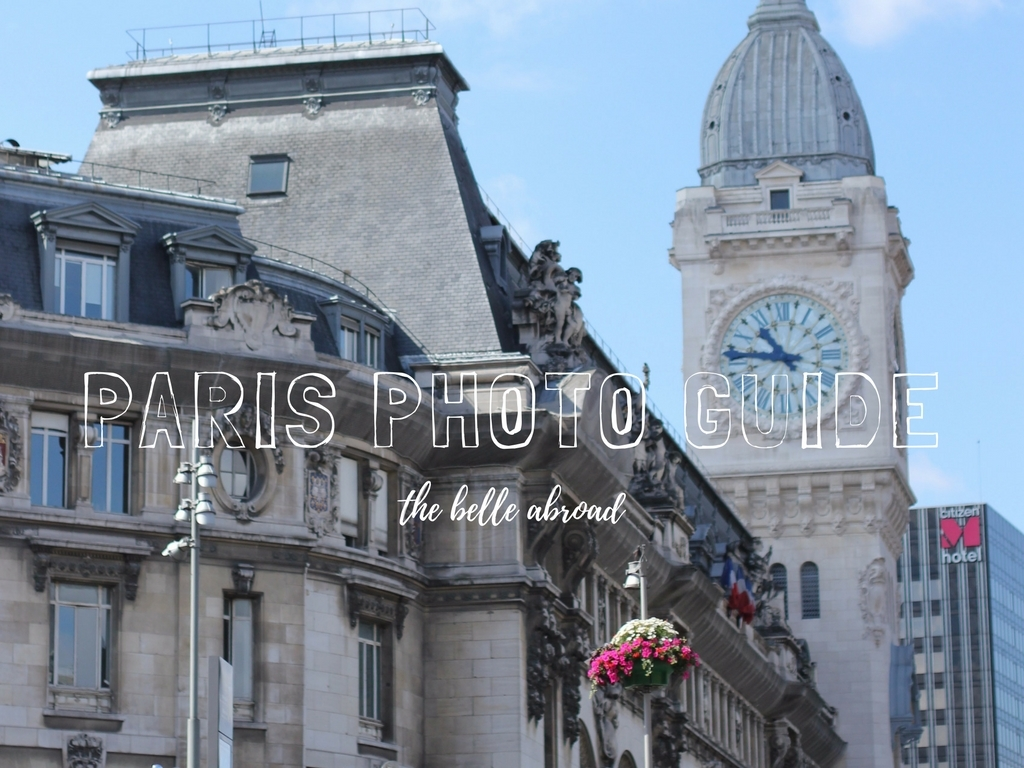 PARIS PHOTO GUIDE + LOCATIONS