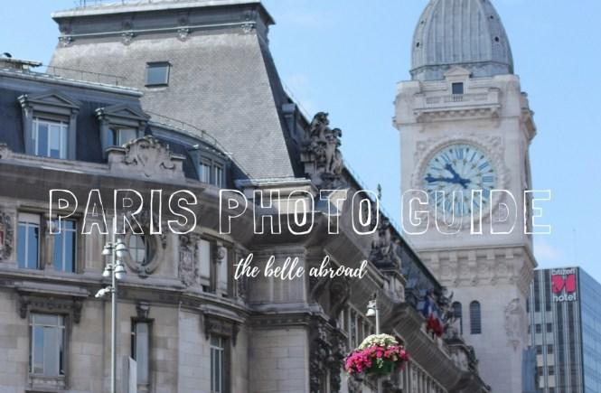 PARIS PHOTO GUIDE | the belle abroad