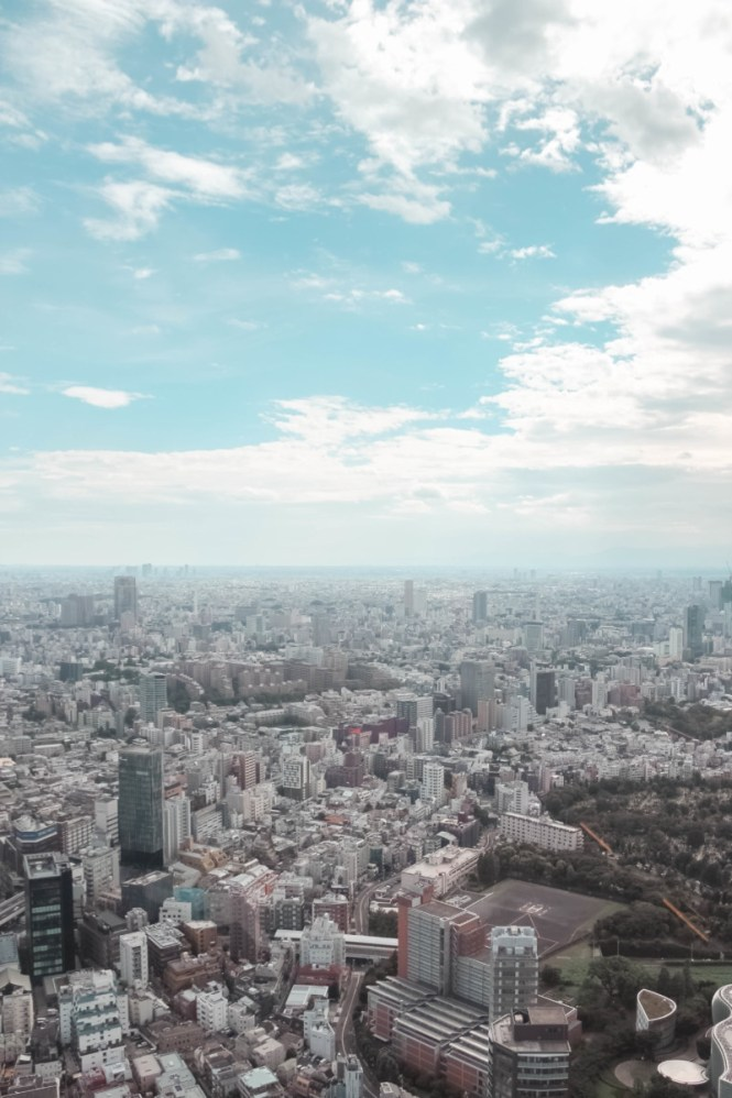SLEEPING ABOVE TOKYO : A STAY AT THE RITZ CARLTON | the belle abroad