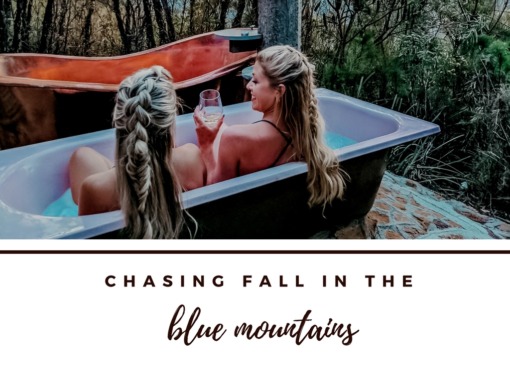 CHASING FALL IN THE BLUE MOUNTAINS