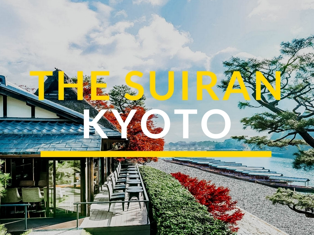 CHECKING IN : THE SUIRAN KYOTO