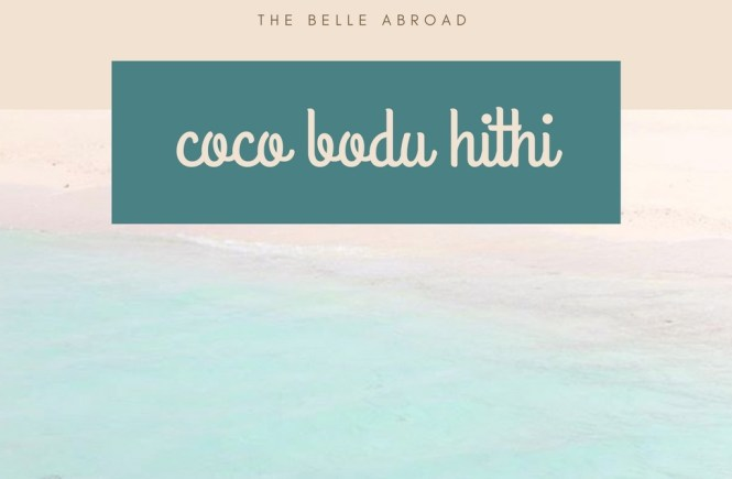COCO BODU HITHI MALDIVES
