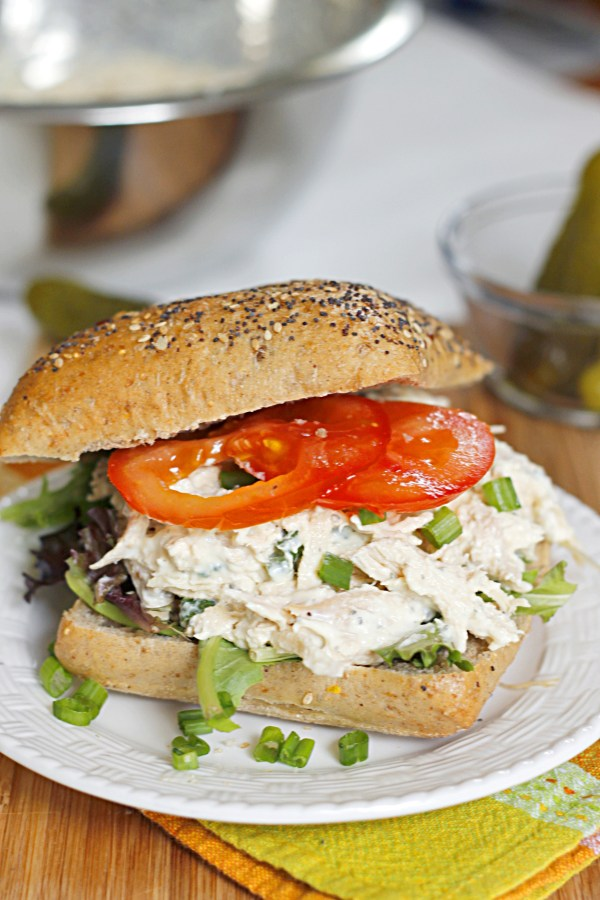 Lighter Ranch Chicken Salad Sandwich Belle Vie