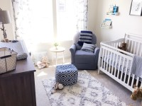 Baby B's Grey & White Nursery - Belle Vie